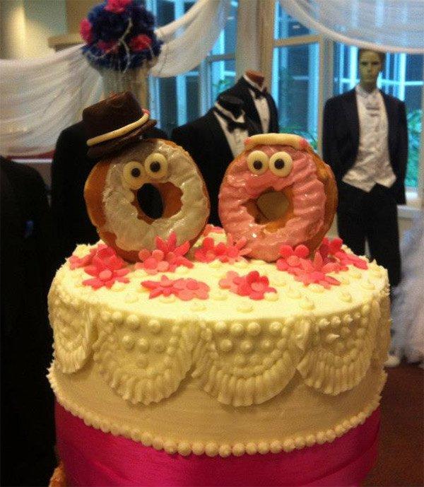 Торт Данкин Донатс: самый дешёвый и лучший свадебный торт в мире