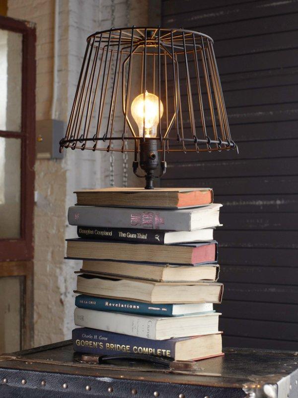 Топ-10: Креативные идеи по использованию старых книг
