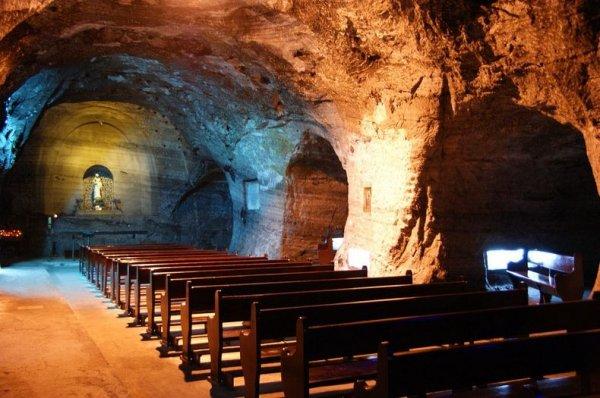 Соляной собор в городе Сипакира
