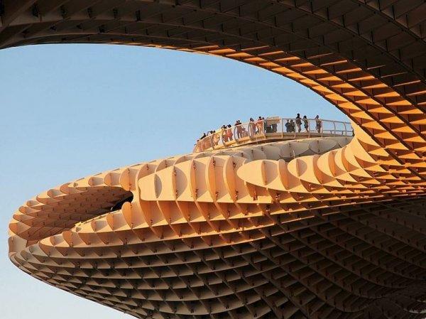 Метрополь Парасоль: самая большая в мире деревянная структура