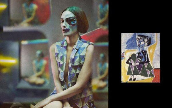 Женщины Пикассо в реальной жизни (7 фото)