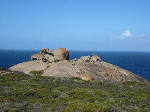 Необычные скальные образования острова Кенгуру