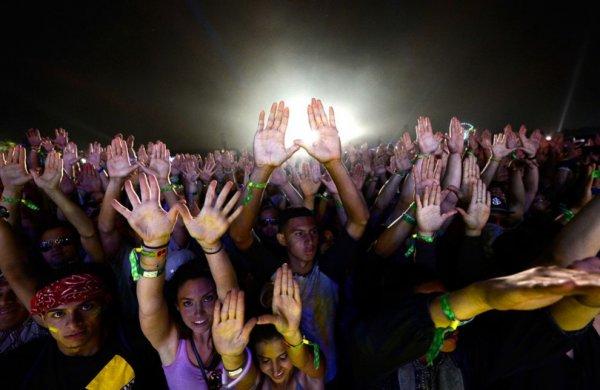 Участники музыкального фестиваля Коачелла 2013