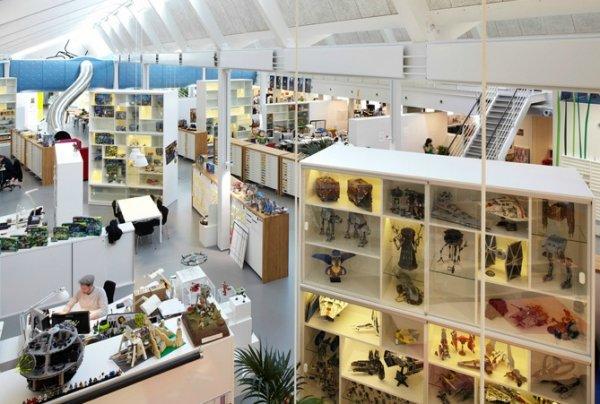 Необычные и оригинальные офисы компаний