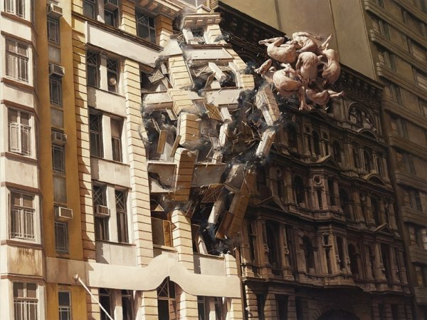 Сюрреалистичные картины Джереми Геддеса