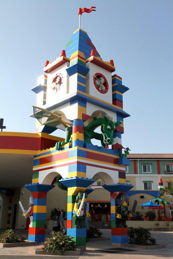 В калифорнийском «LEGOLAND» открылась гостиница на тему LEGO