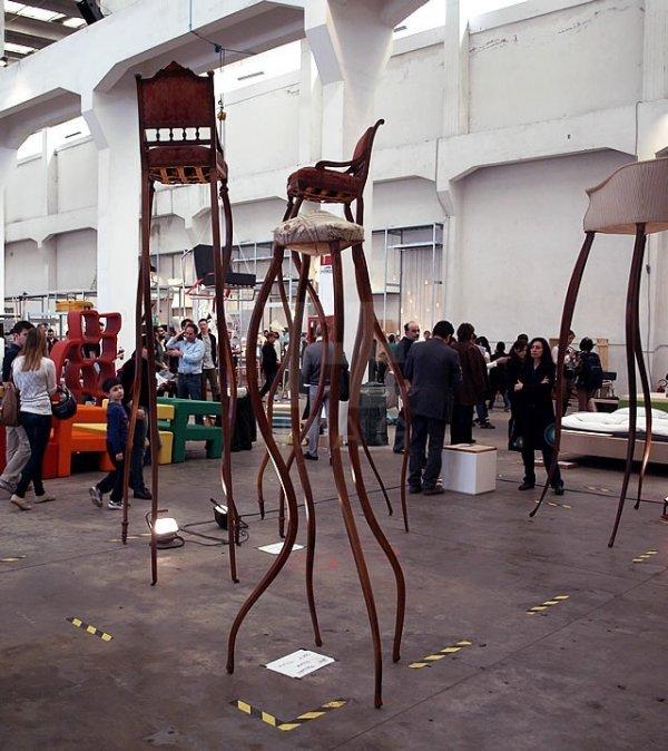 Сюрреалистическая мебель от Умберто Даттолы (6 фото)