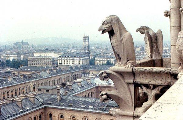 Самые интересные горгульи на архитектурных сооружениях мира (40 фото)