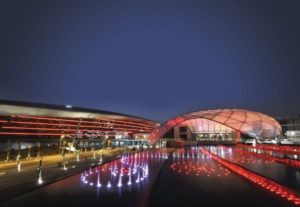 Тематический парк «Мир Феррари» в Абу-Даби