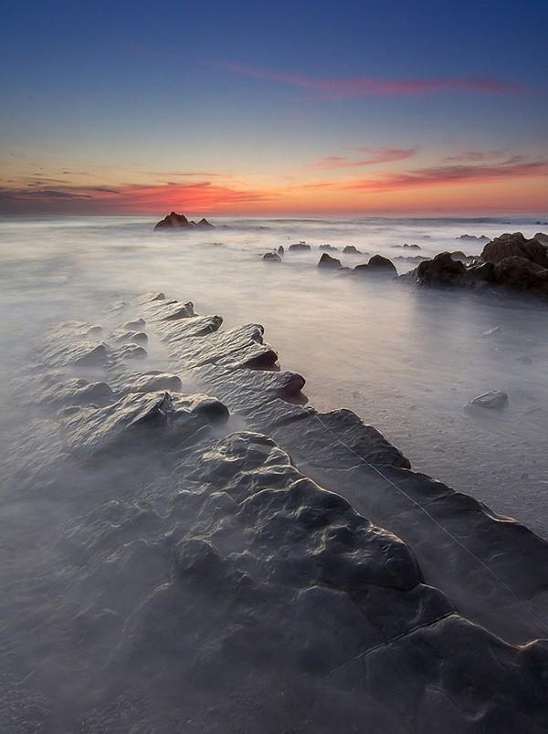 Загадочные хребты-турбидиты на испанском побережье (17 фото)