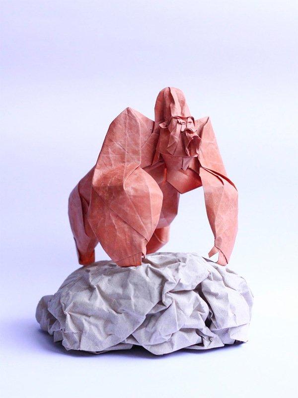 Выразительное оригами Нгуен Хунг Куонга (16 фото)