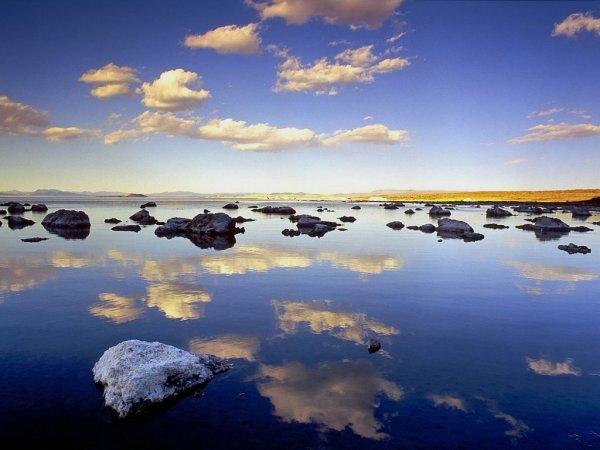 Изумительный природный ландшафт озера Моно (13 фото)