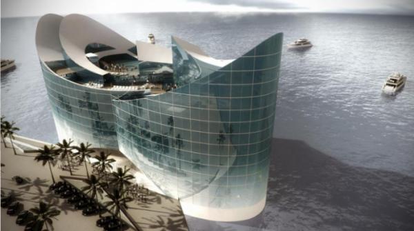В Катаре готовится к реализации проект плавучих отелей (9 фото)