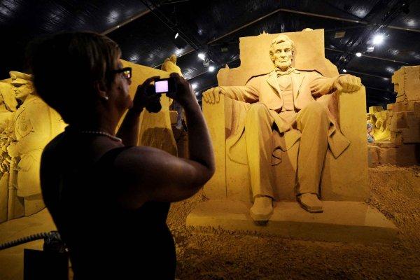 Фестиваль песчаных скульптур в Бланкенберге (10 фото)
