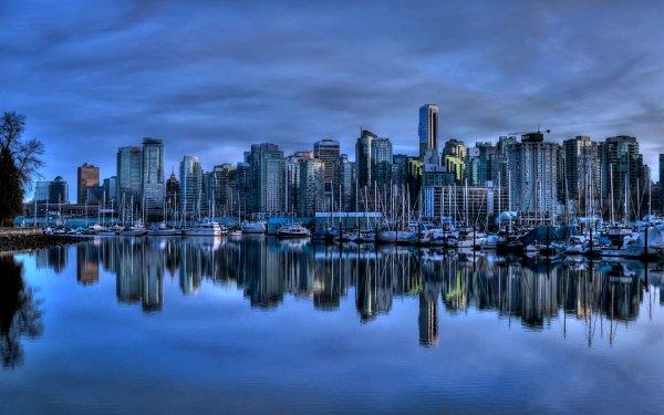 Мегаполисы мира, отражённые в воде (21 фото)
