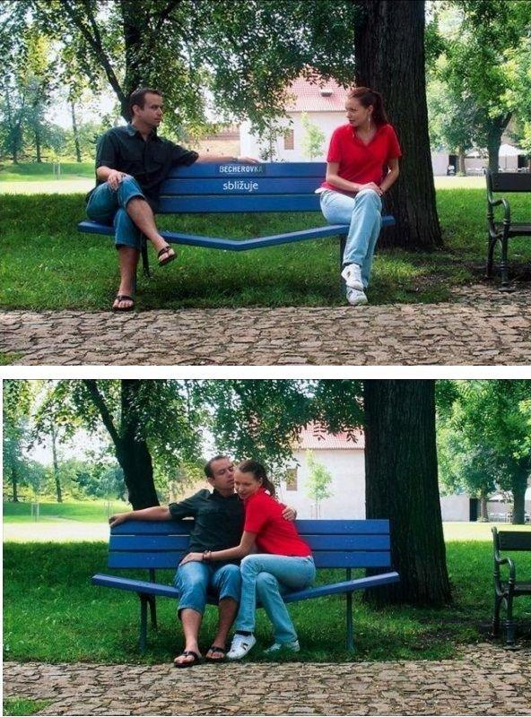 Креативные скамейки (26 фото)