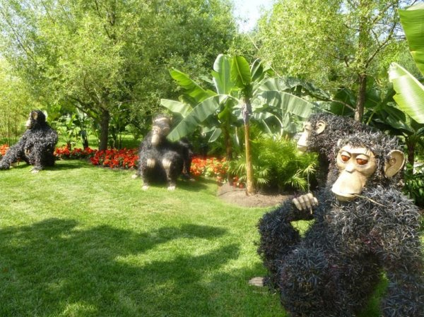 Выставка цветочной мозаики 2013 проходит в Ботаническом саду Монреаля