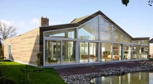25 Инновационных стеклянных домов