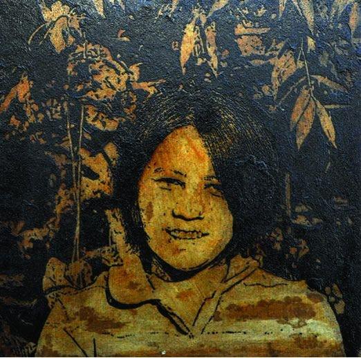 Молодой талантливый художник пишет картины при помощи кофейной гущи (10 фото)
