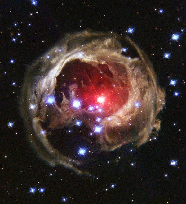 Потрясающие космические снимки (18 шт)