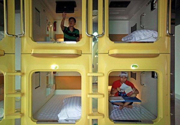 Компактный отель в китайском городе Хайкоу (11 фото)
