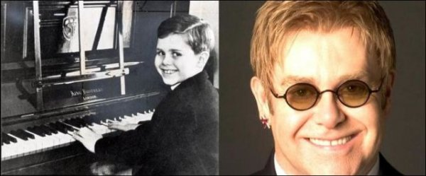 Знаменитости тогда и сейчас (19 фото)