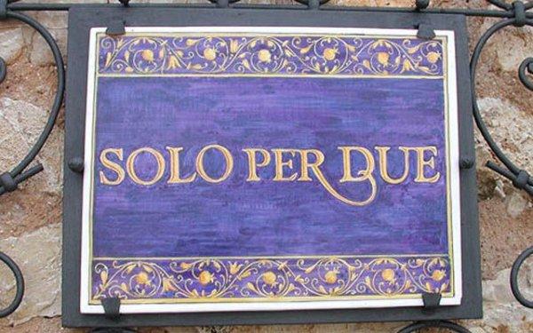 Соло Пер Дуэ – самый маленький в мире ресторан, рассчитанный на двоих человек