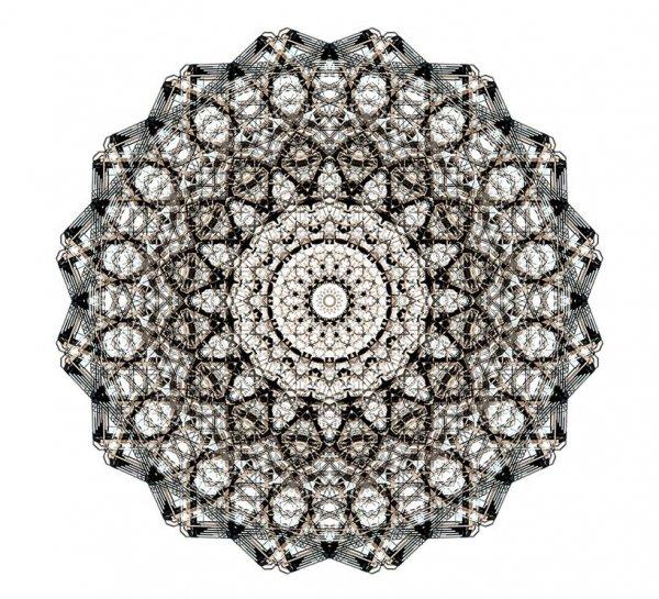 Калейдоскопические изображения архитектурных форм, созданные Кори Стивенсом (11 фото)