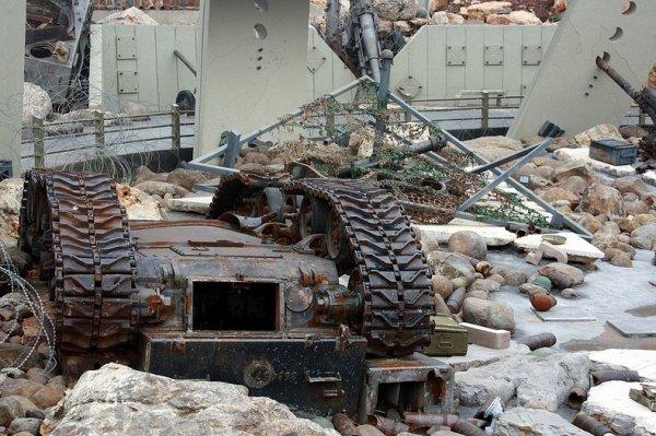 Музей сопротивления Хезболлы в Млите (12 фото)