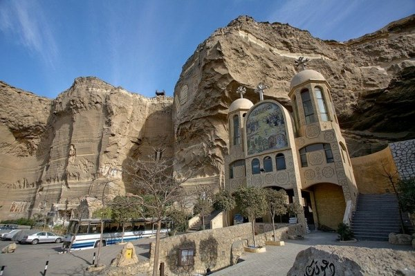 Монастырь Святого Симона в Египте (12 фото)