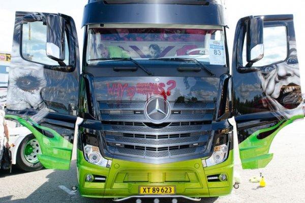 Впечатляющие участники Фестиваля грузовиков (27 фото)