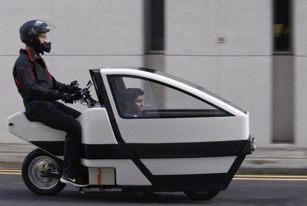 Прикольные транспортные средства, созданные человеком (14 фото)