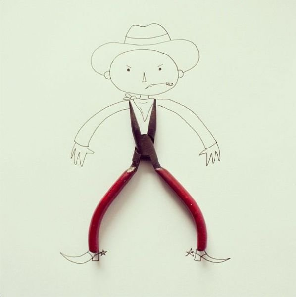 Забавные коллажи, созданные художником Хавьером Пересом (32 фото)