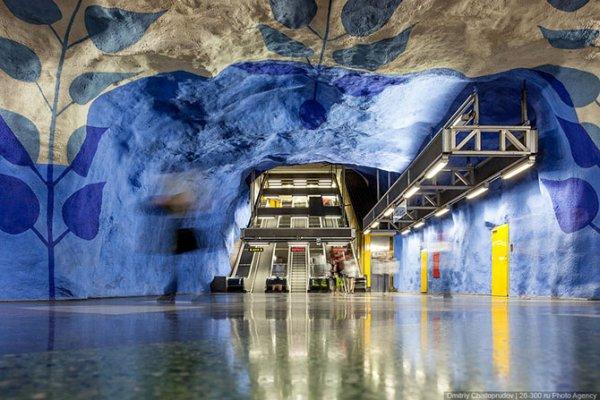 Красивые станции метро городов мира (41 фото)