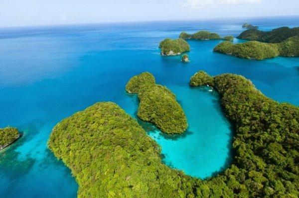 Живописный архипелаг Палау: райское место для отдыха (21 фото)