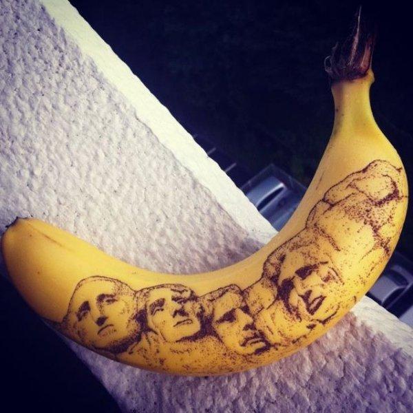 Татуирование бананов – форма искусства, набирающая популярность (9 фото)