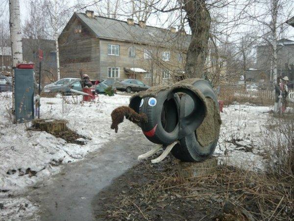 Жилищно-коммунальное искусство (19 фото)