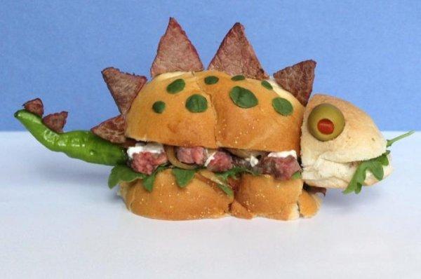 Креативный дизайн гамбургеров от Каси Хаупт (10 фото)