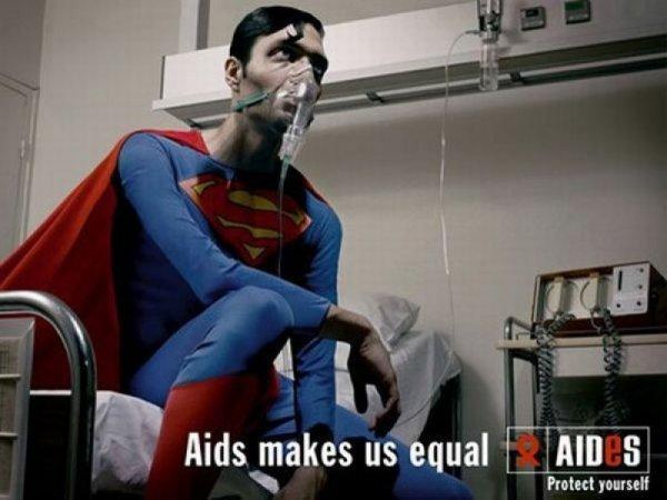 Самые яркие примеры социальной рекламы против СПИДа (18 фото)