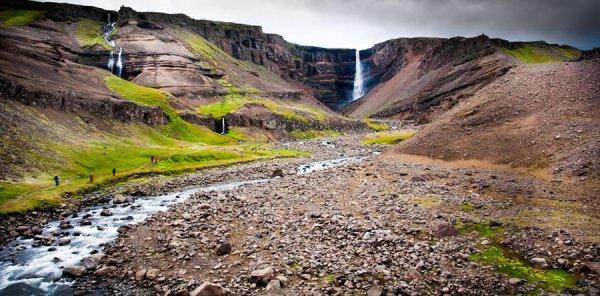 Живописные водопады Исландии (28 фото)