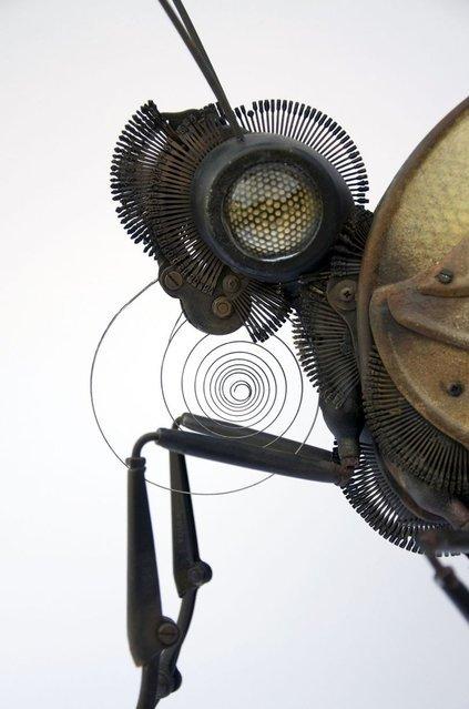 Восхитительные скульптуры насекомых, созданные талантливым Эдуардо Мартине (12 фото)