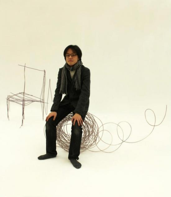 Удивительная мебель в виде эскизов (16 фото)