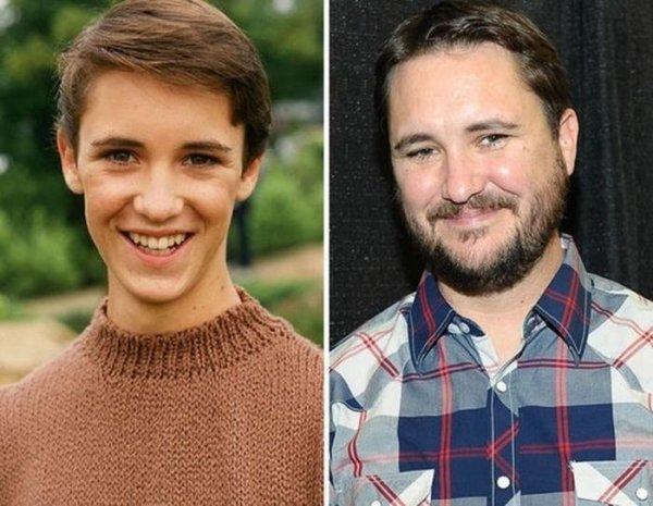 Известные актёры тогда и сейчас (30 фото)