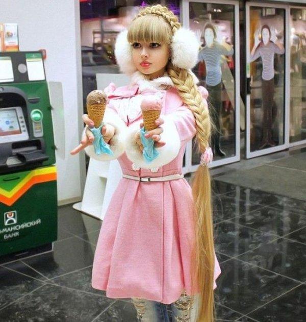 Самые известные живые куклы (10 фото)
