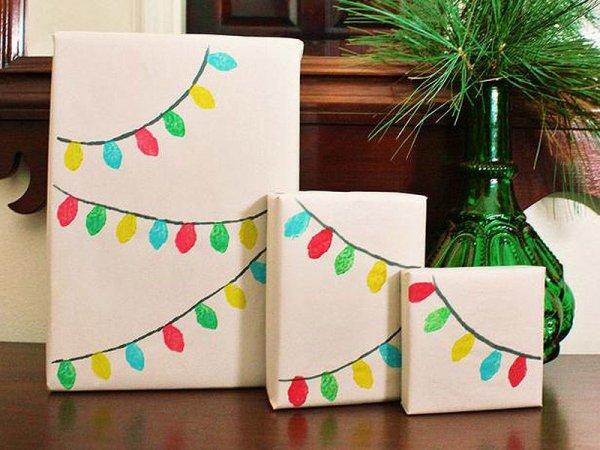 Оригинальное оформление новогодних подарков (30 фото)