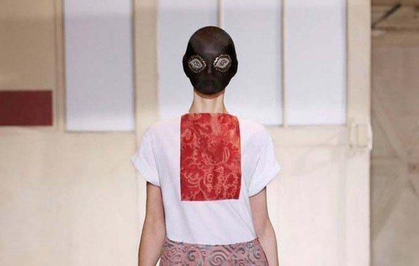 Показ Maison Martin Margiela Haute Couture весна/лето 2014 (22 фото)