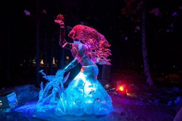 Ледяная сказка на международном чемпионате мира в Фэрбанксе (15 фото)