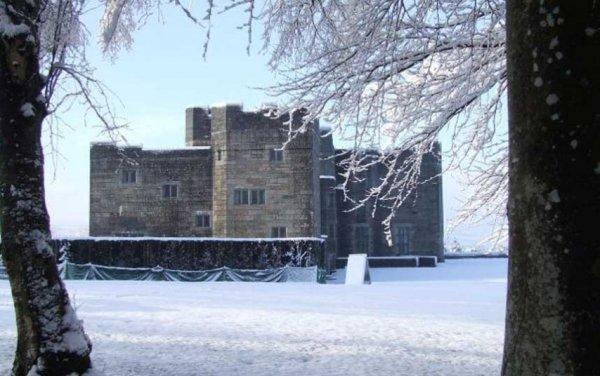 Живописные британские сады и парки в зимнее время (12 фото)