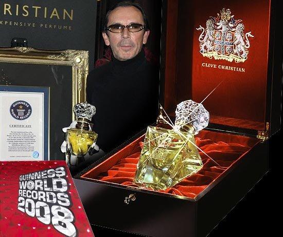 Clive Christian Imperial Majesty – самые дорогие духи в мире (4 фото)