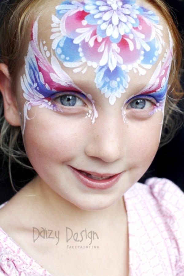 Детский бодипейнтинг от Кристи Льюис (19 фото)